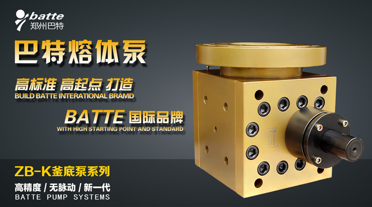 ZB-K电加热釜底泵(计量泵)